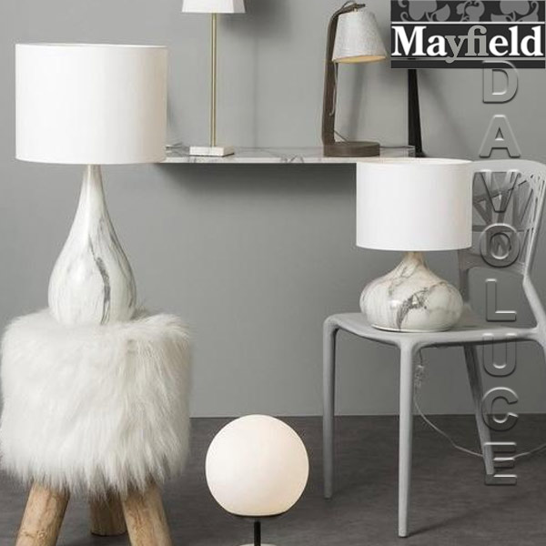 Mayfield lamps 1224 keji white marble table lamp davoluce lighting mayfield lamps 1224 keji white marble table lamp davoluce lighting davoluce lighting aloadofball Image collections