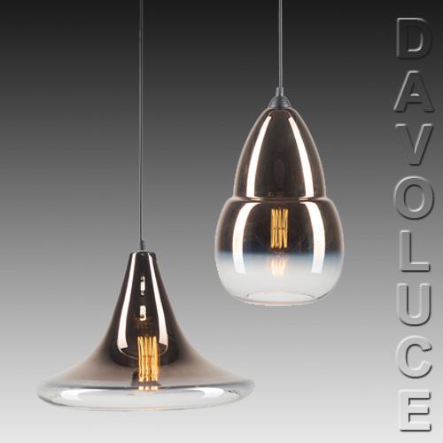 Kitchen Island Bench Pendant Lighting: GIORGIO Ombre Glass Pendant