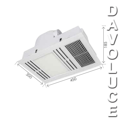 andromeda bathroom mate exhast fan heater u0026 led light bathroom heater light australia