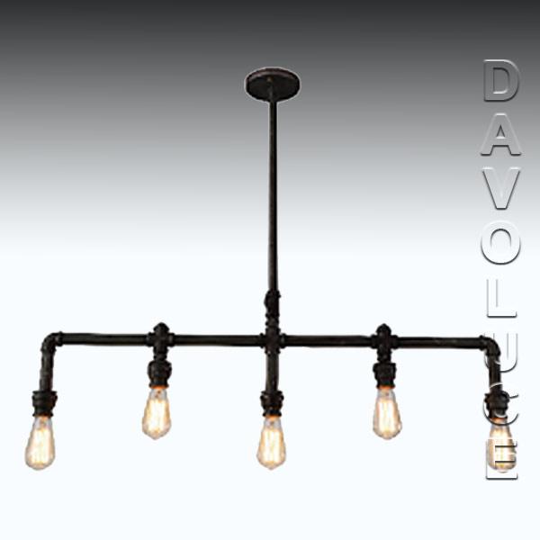 201523 eglo foundry 5 light pipe pendant from davoluce lighting 201523 foundry 5 light pendant pendants for restaurants restaurant pendant light fixtures in australia aloadofball Images