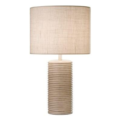 798 Nia Antique White Table Lamp With Shade Mayfield