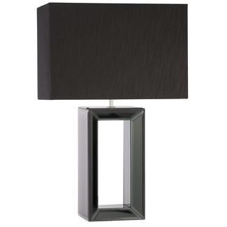 824 bryn black glass base table lamp from. Black Bedroom Furniture Sets. Home Design Ideas