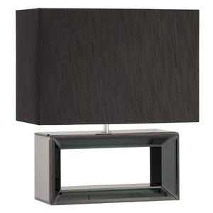 black glass base table lamp from australia wide delivery. Black Bedroom Furniture Sets. Home Design Ideas