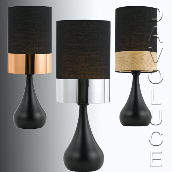 Telbix akira table lamps with black base davoluce lighting telbix akira table lamps with black base we have the largest range of table lamps aloadofball Images