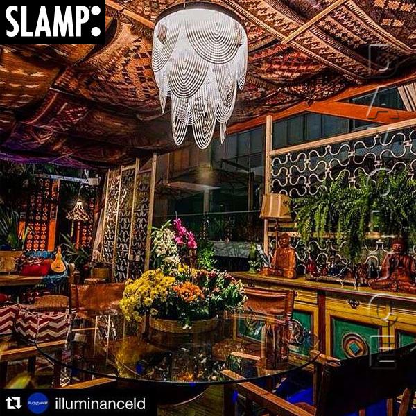slamp ceremony large prisma suspension by bruno rainaldi davoluce lighting. Black Bedroom Furniture Sets. Home Design Ideas
