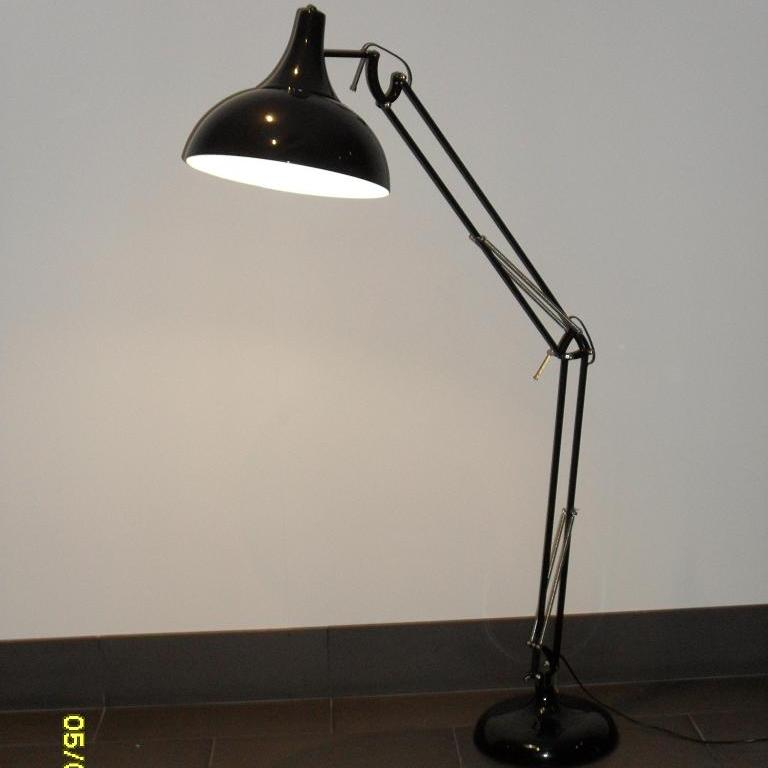Chad floor lamp product of mercator lighting for Chrome chad floor lamp