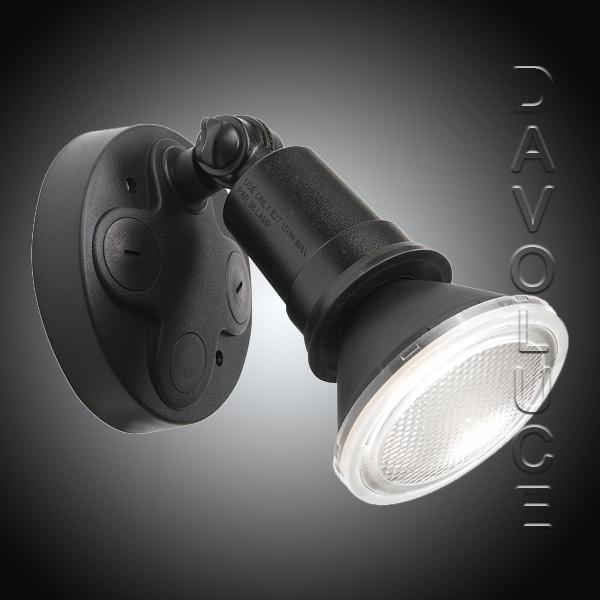 Timbre Luces Low Bay Lighting: Telbix Comet 10W LED Adjustable Exterior Flood Light