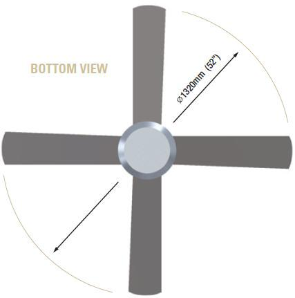 Hunter pacific concept 2 best price from davoluce lighting studio hunter pacific concept 2 brushed aluminium ceiling fan from davoluce lighting aloadofball Choice Image
