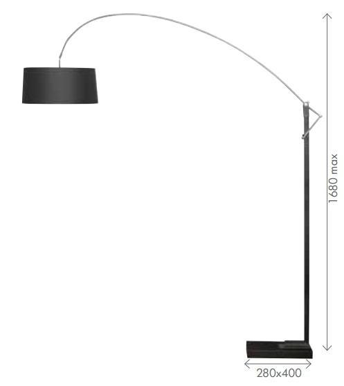 Cozumel floor lampaustralia wide delivery cozumel floor lamps davoluce aloadofball Choice Image
