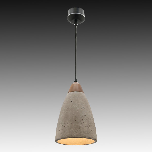 mercator mg6331 danska timber concrete pendant from davoluce lighting