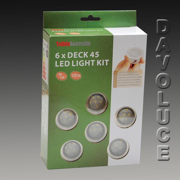 Telbix led deck light set of six from davoluce lighting telbix led deck 6 light kit cheapest led deck light kits in australia best mozeypictures Choice Image