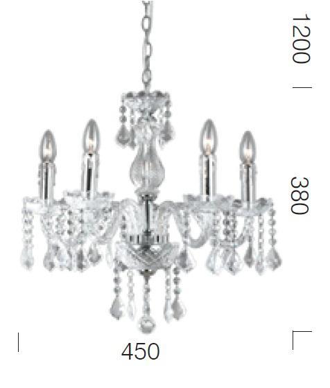 dijon 5 light pendant  dijon 5 light chandelier  cristal