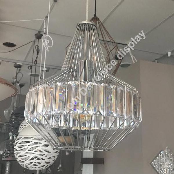 Telbix Elmas 32cm Crystal Pendant From Davoluce Lighting