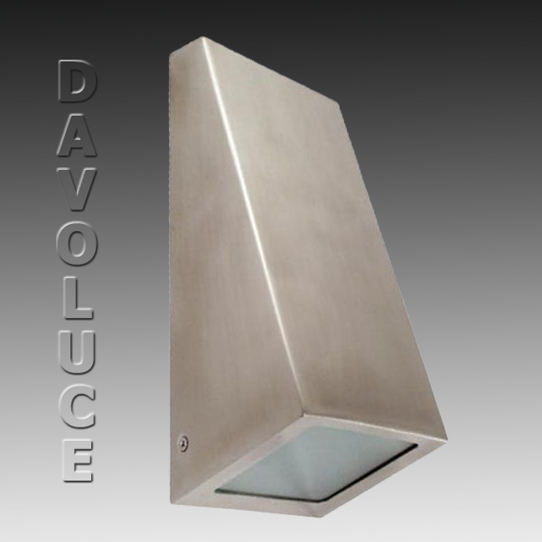 Endo Exterior Wall Light From Telbix Stainless Steel Wall