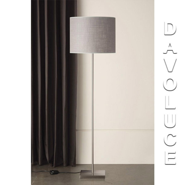 233fl felix contemporary floor lamp mayfield lamps davoluce lighting 233fl felix contemporary floor lamp with a satin nickel base head from mayfield lamps aloadofball Choice Image