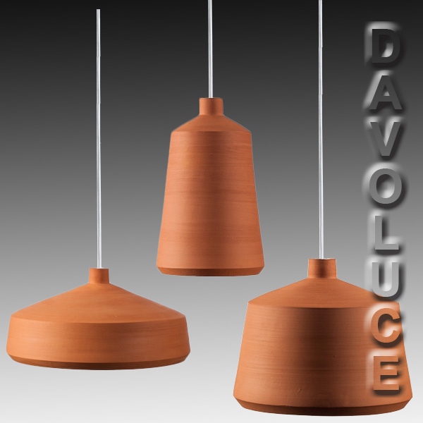 Flame terracota hand made pendant lights by pott made in spain flame spanish handmade pendant lights clay pendant lights by pott from davoluce lighting mozeypictures Gallery