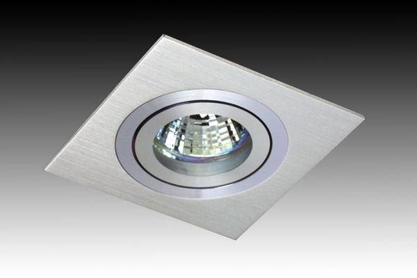 G7544 Cnc Aluminium Cut Square Adjustable Downlight