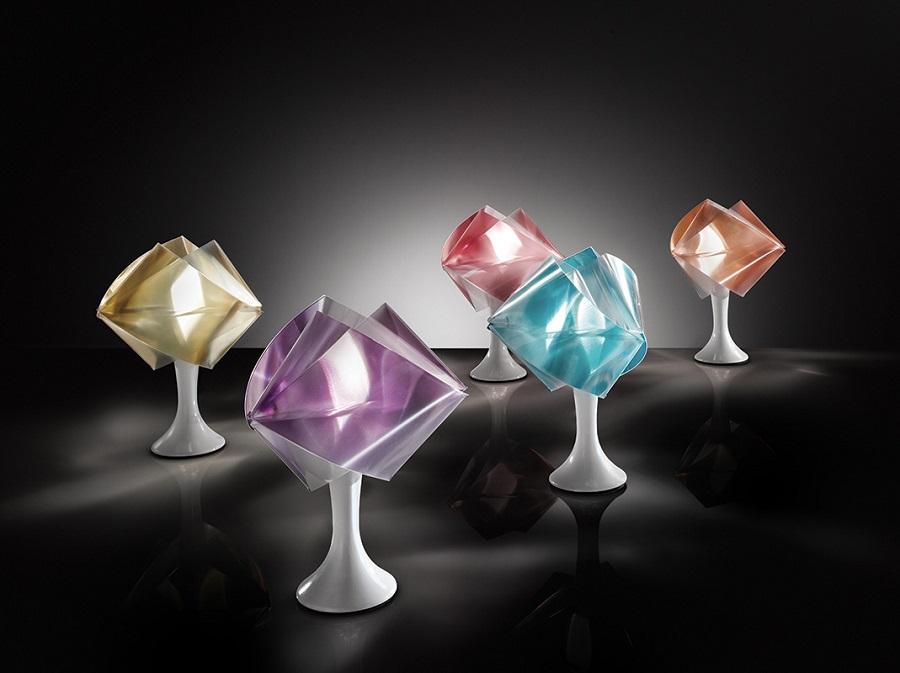 slamp the leading light gem04tav0001 gemmy prisma table lamp. Black Bedroom Furniture Sets. Home Design Ideas