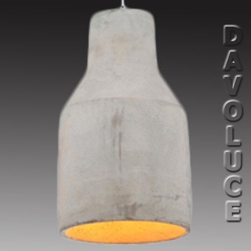 Gennie Concrete Pendant Light From Davoluce Lighting