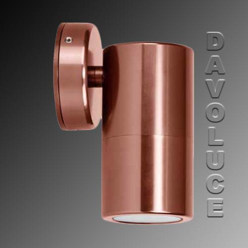 HV1195 Bronze Coloured LED Single Fixed Dimmable Wall Light - DaVoluceLighting.com.au