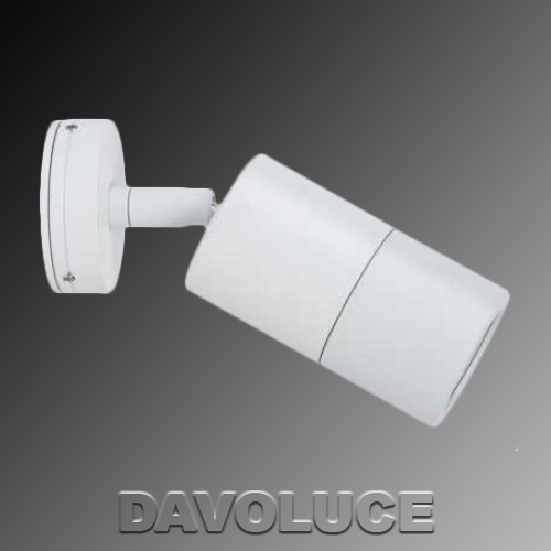Hv1237 white single adjustable led wall light from davolucelighting hv1235 white single adjustable led dimmable wall light davoluce lighting havit lighting aloadofball Image collections