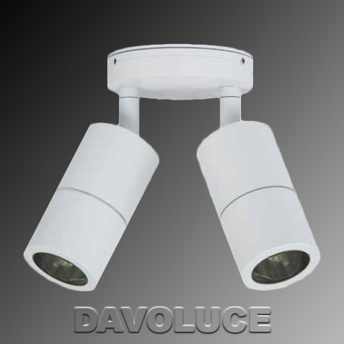 Outdoor Dimmable Led Wall Lights : HV1335 White Double Adjustable Dimmable LED Wall Light from DaVoluceLighting.com.au, Quality ...