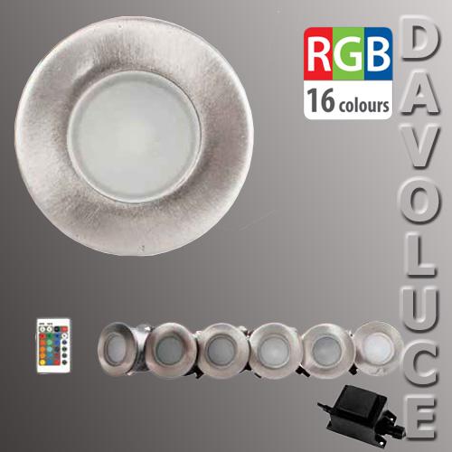 Havit Hv2822 Rgb Led Mini Deck Light Kit From Davoluce
