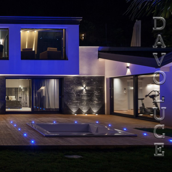 Outdoor Lights Gold Coast: MINI FLAME 0.5w Built In LED Deck Lights