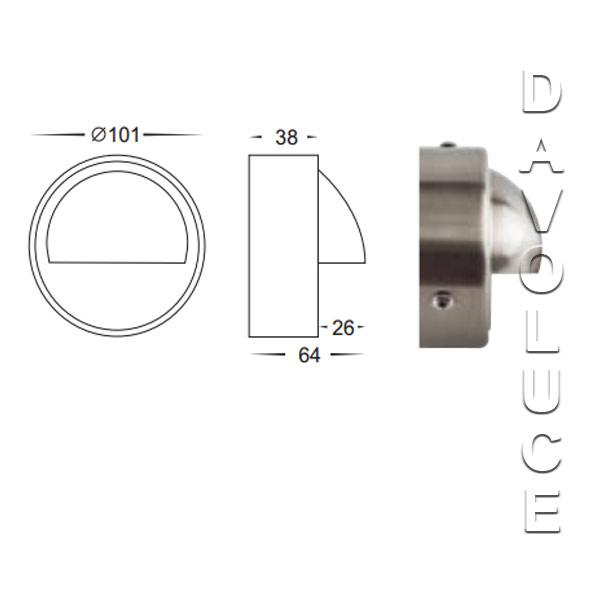 Havit Lighting Surface Mounted Eyelid | DaVoluce Lighting Studio
