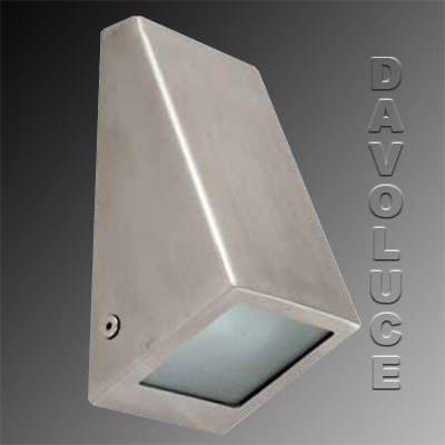 Wedge Exterior Wall Lights : Buy online HV3605C, HV3605W LED Wedge Wall Light,