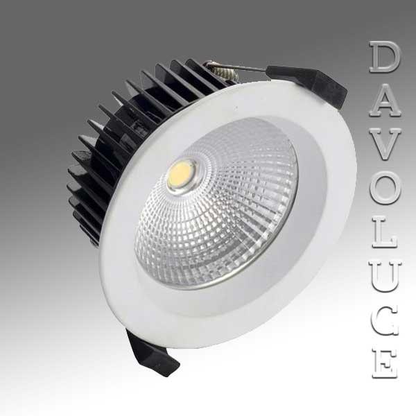 ... HV5530C Black Fixed LED downlight - ORA 12w Built in LED 6000k from Havit-Davoluce ... & HV5530C Black or White Fixed LED downlight - ORA 12w Built in LED ... azcodes.com
