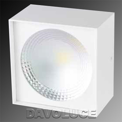 Hv5843 Surface Mounted Square 12w Led Downlight Australia