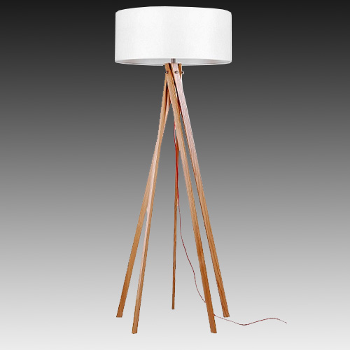 Superb ADNOR Designer Timber Floor Lamp, From UGE Lighting   Davoluce Lighting