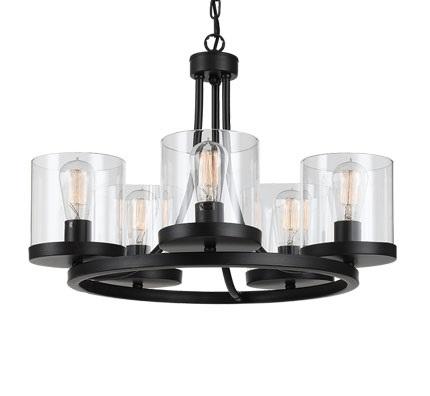 Largo 5 Light Modern Pendant From Telbix Australia Davoluce Lighting