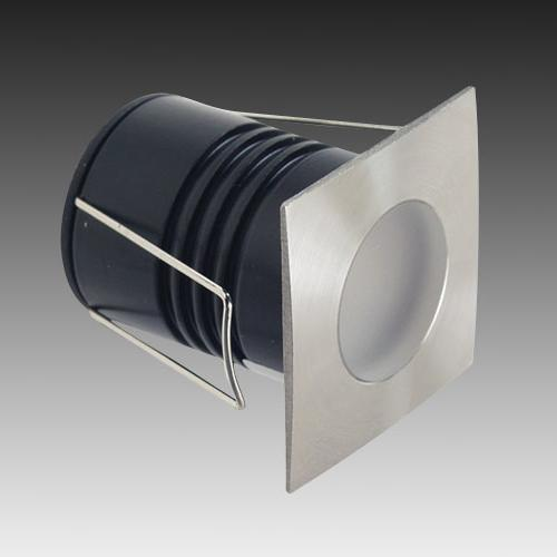 Small Recessed Wall Lights : LED314, LED lights from Gentech, Recessed Wall Lights, LED deck lights, LED step lights, Mini ...