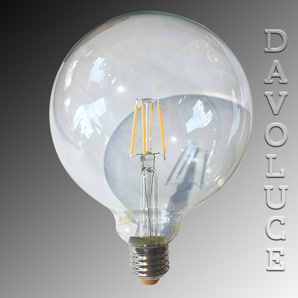 Lfcg125 Led Filament G125 Omni Lighting Davoluce Lighting