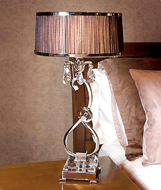 Luxuria table lamp by viore disign designer paul mulhearn table luxuria 1 light table lamp aubergine viore design mozeypictures Choice Image