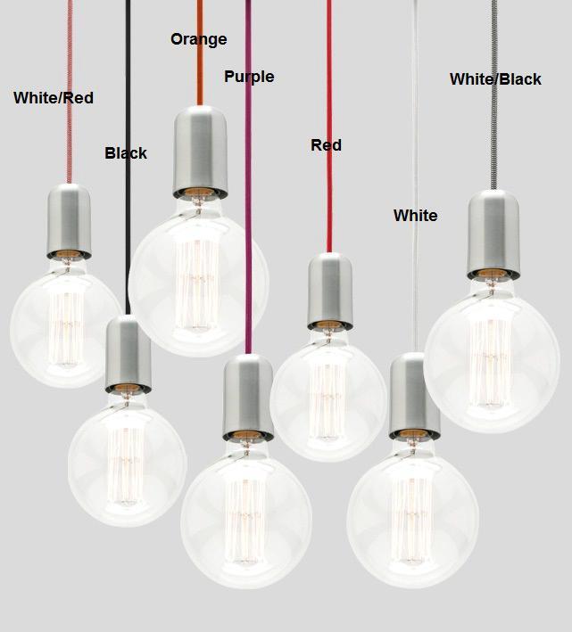 Davoluce Lighting Presents MA99 Fabric Cord Pendant Light Dream Cord Set