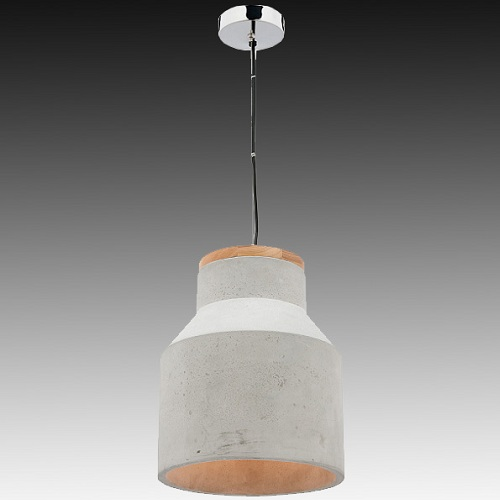 Mercator Mg4031l Moby Large Timber Amp Concrete Pendant