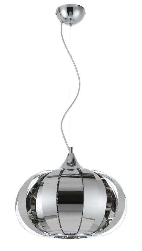 Movy Modern Polished Chrome Pendant From Telbix Buy