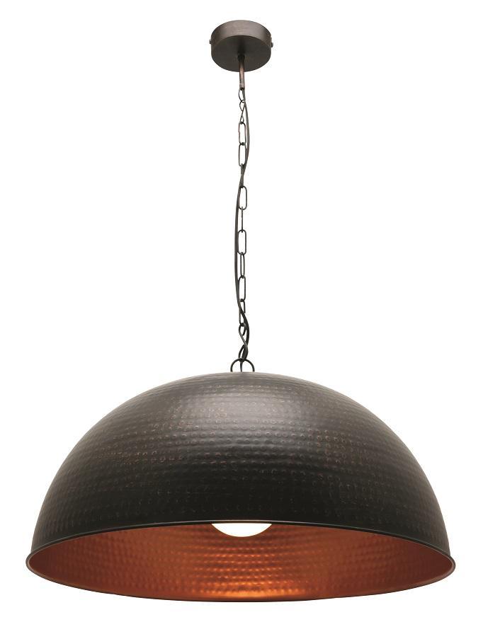 Large Copper Pendant Lighting : Mp l saigon large copper patina pendant mercator