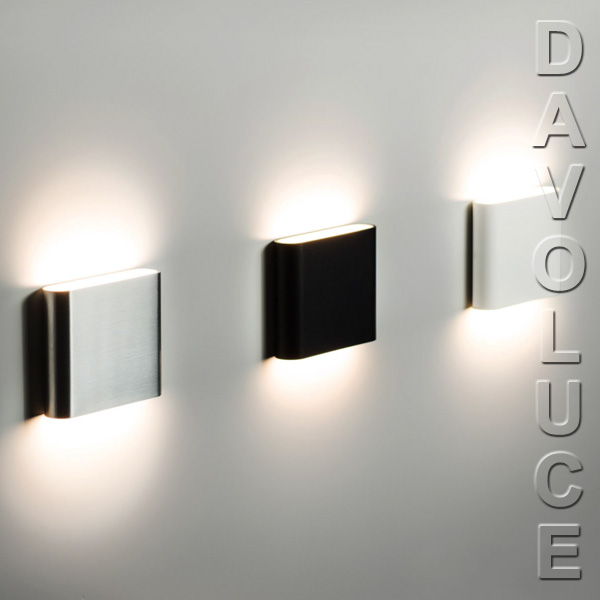 NOVA Modern LED Up And Down Aluminium Exterior Wall Light PremiumlightingDaVoluce
