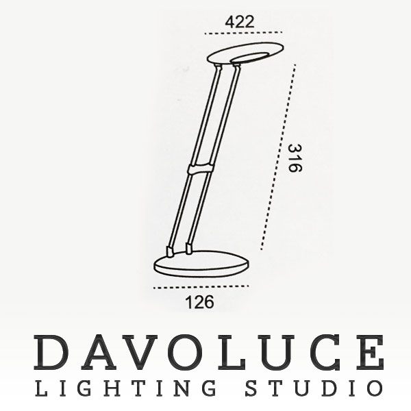 omni lighting foldable led desk lamp omni