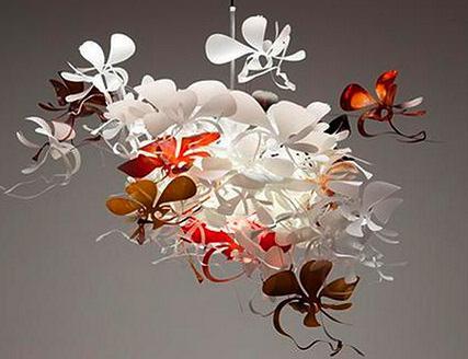 Orchid Led Pendant Lamp Marc Pascal Australian Designer