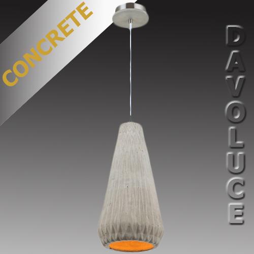 Oslo Concrete Pendant Light From Davoluce Lighting