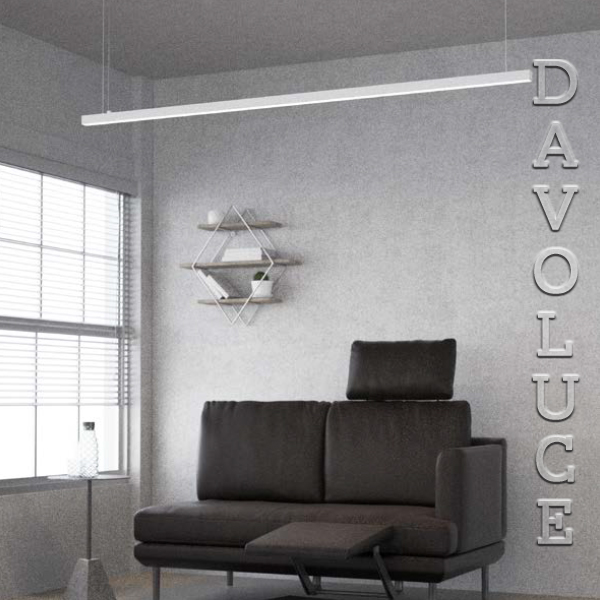 Novalux P 30 Linear Ceiling Or Suspension Davoluce