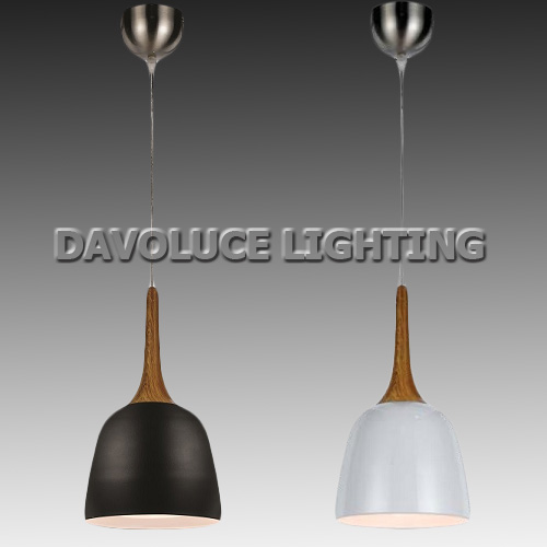 telbix polk 20 oak white oak black modern pendant from davoluce