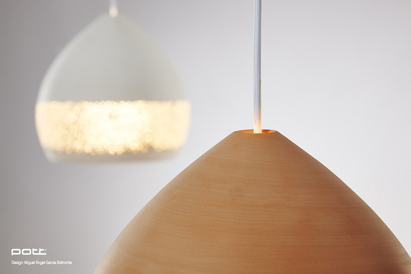 Spongeoh Terracota Hand Made Pendant Lights By Pott Made