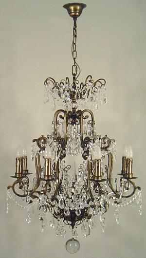 Buy online queen victoria 8 light crystal chandelier at trade prices queen victoria 8 light chandelier from lode lighting aloadofball Images