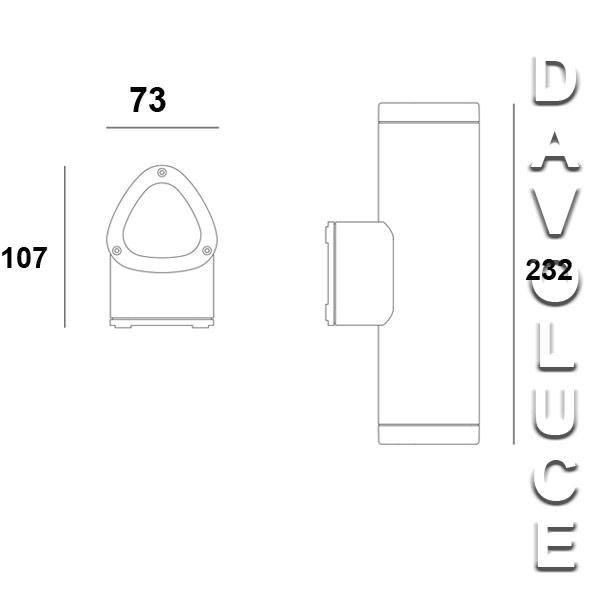 Sal Se7132 New Flinders Wall Light From Davoluce Lighting